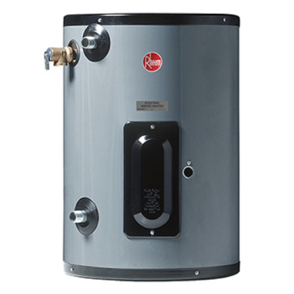Rheem Commercial Point Of Use 20 Gal 240 Volt 4 5 Kw 1 Phase Electric Tank Water Heater Egsp20 240 Volt 4 5kw Pou Mop Sink Bar Sink Locker Storage