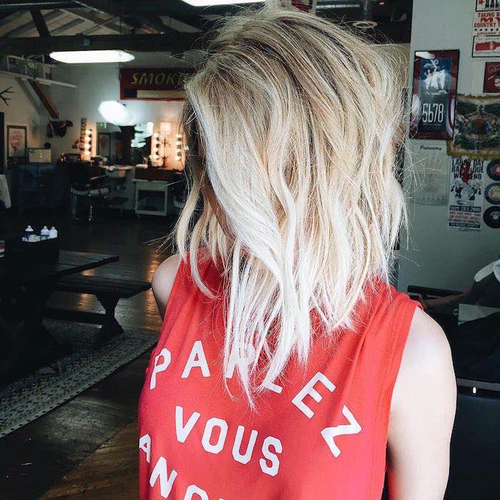 1001+ idées | Carré plongeant blond, Coupe carré plongeant long et Carré plongeant long blonde