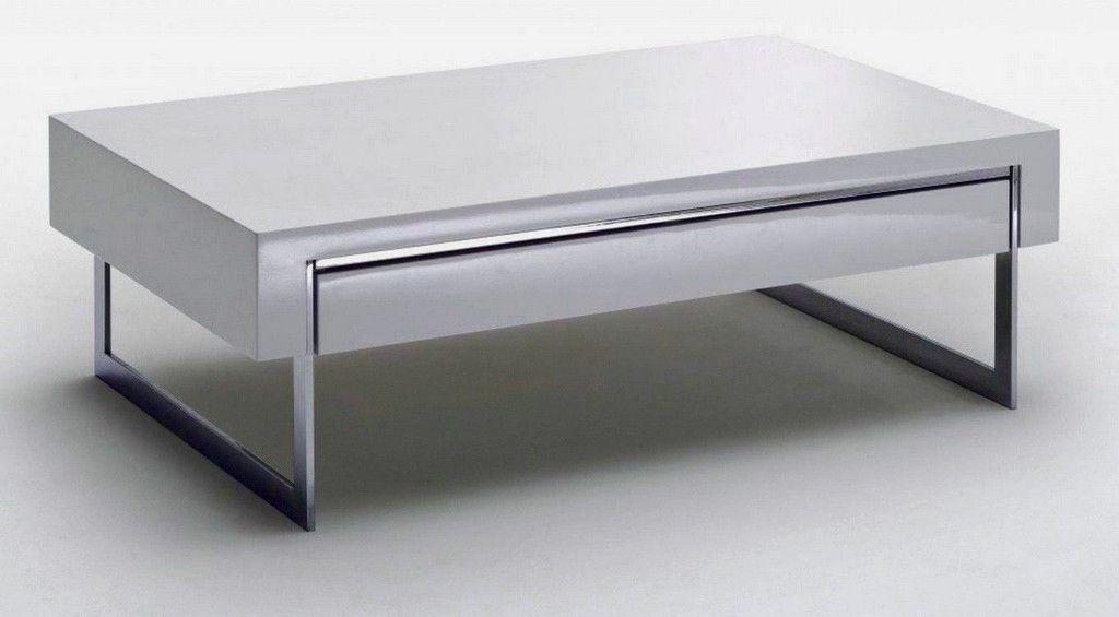Tables Basses Avec Tiroirs Table Basse Design Blanc Laque Avec Tiroir Lounia Tiroirs Bois Ron Di 2020