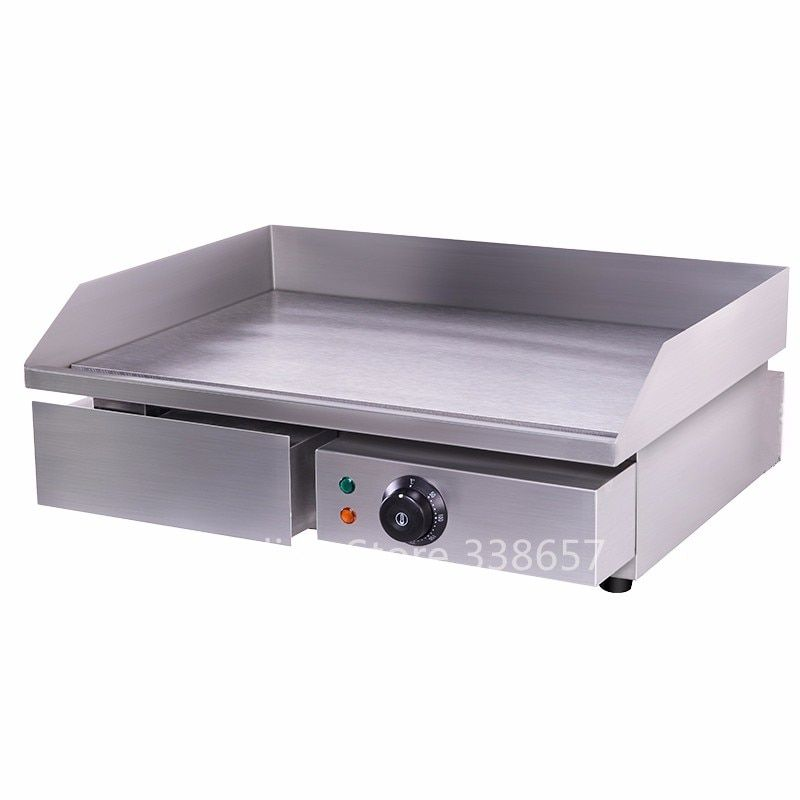 Electric Commercial Stainless Steel Flat Top Pan Oven Grill Griddle For Restaurant In Electric Grills El Grill Design Stainless Steel Griddle Home Appliances