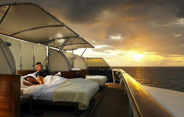 Este é o navio/casa dos milionários: um apartamento chega aos €9 milhões