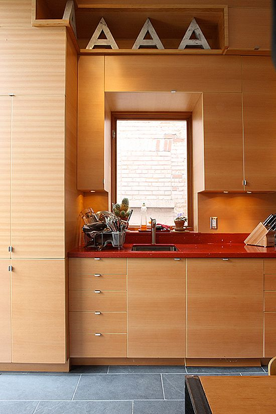 Douglas Fir cabinets (With images) | Brown cabinets ...