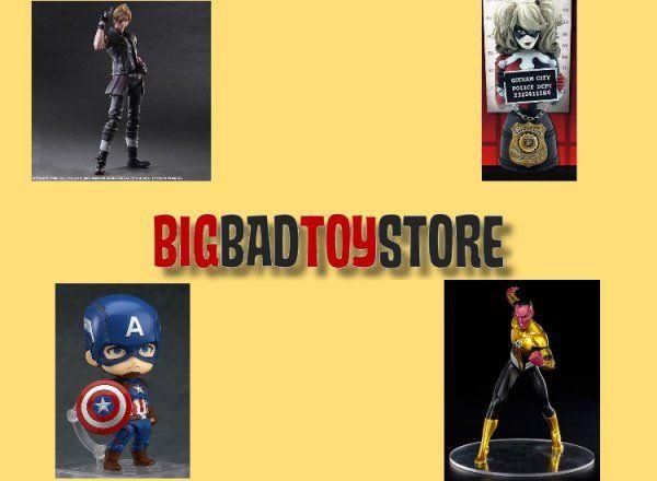 BBTS Sponsor News: Frankenstein, Ant-Man, Aliens, Mega Man, DC, Godzilla, FFXV, Cthulhu & More!