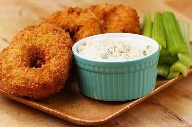Yes, Buffalo Chicken Onion Rings Exist And You Nee