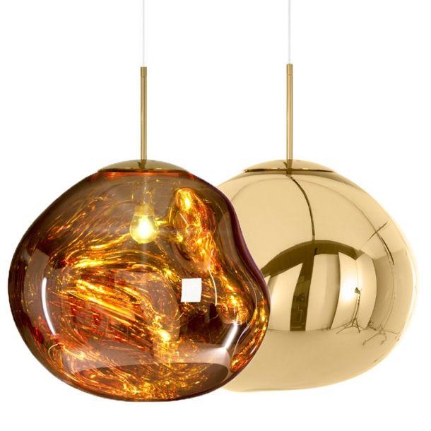 Melt Gold Pendel Fra Tom Dixon Pendler Designfund Lampen Pendelleuchte Lampe