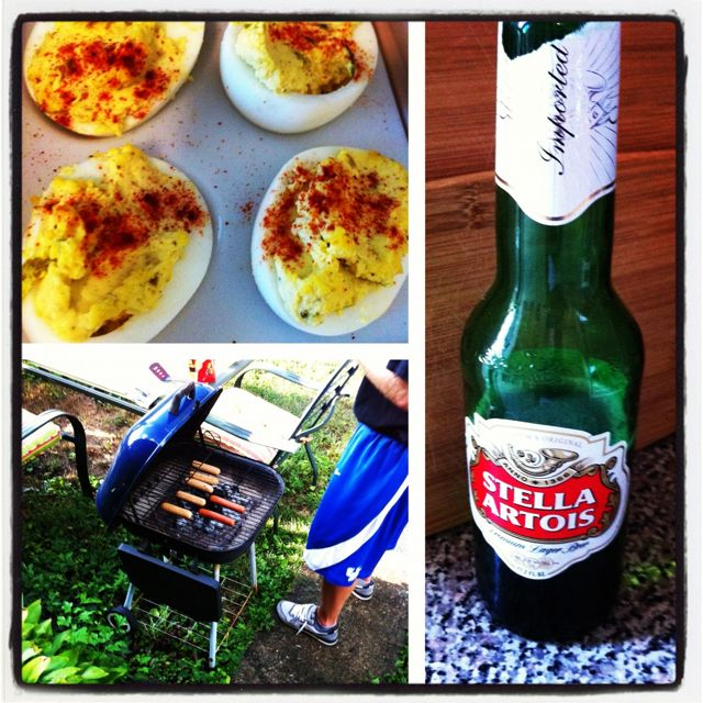 Summer Kentucky Cookin' #stella #southern #grilling