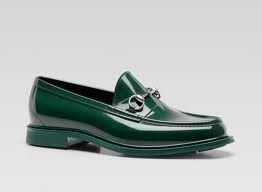 Gucci Men s Rubber Loafer  8436784128b