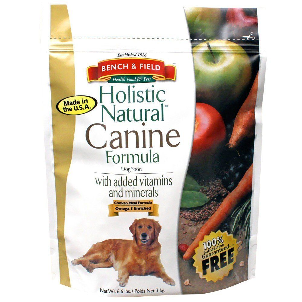 Bench And Field Pet Foods Dog Food Holistic 6 60 Pounds Click