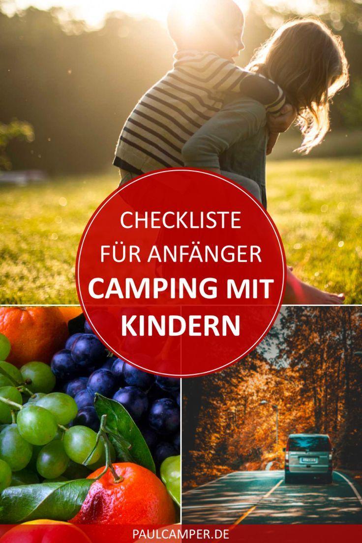Checkliste für das Wohnmobil: So vergisst du nichts im Familienurlaub! #essentialsforcamping