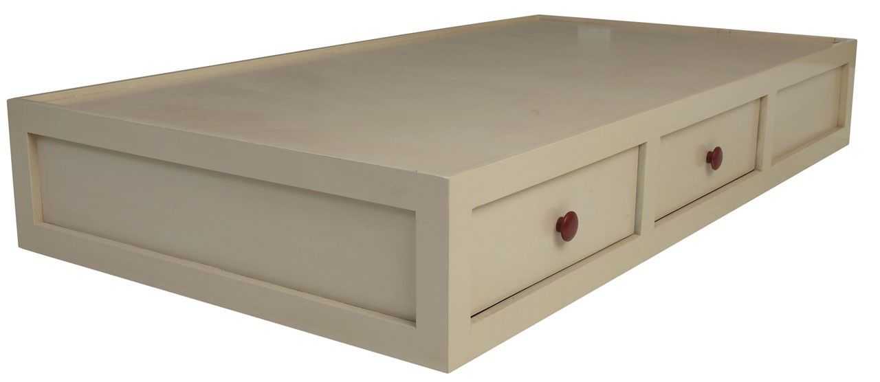 Platform Bed With Drawers From Newport Cottages   Handcrafted