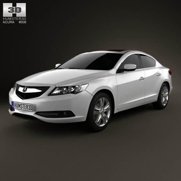 Acura Ilx, Acura, 3d Model