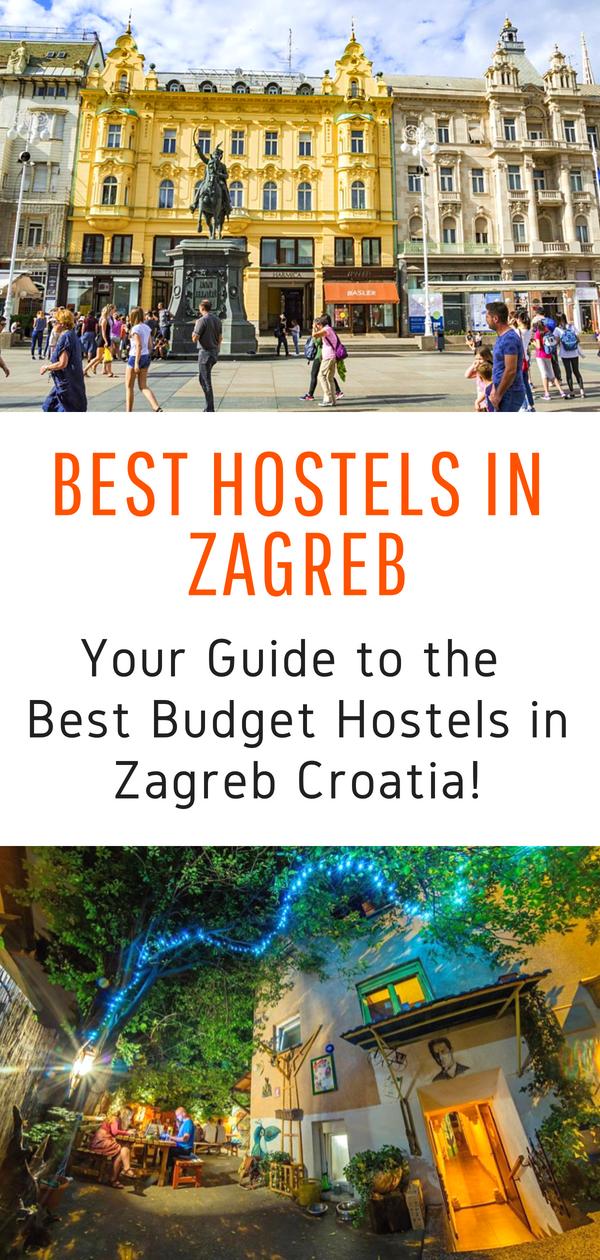 The Best Hostels In Zagreb 2020 Real Insiders Guide Croatia Travel Zagreb Croatia Travel