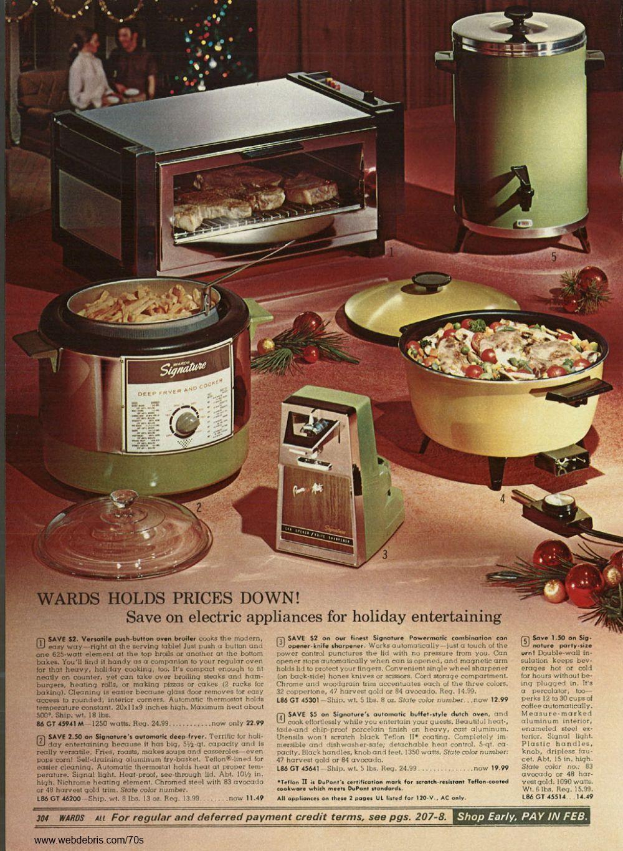 1970s appliances http oldgreencottage com 1970s html
