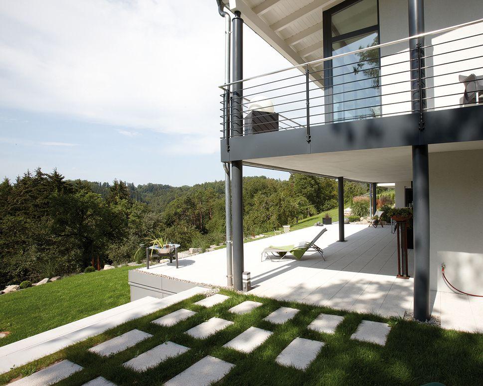 Frei geplantes architektenhaus am hang   so könnte es aussehen ...