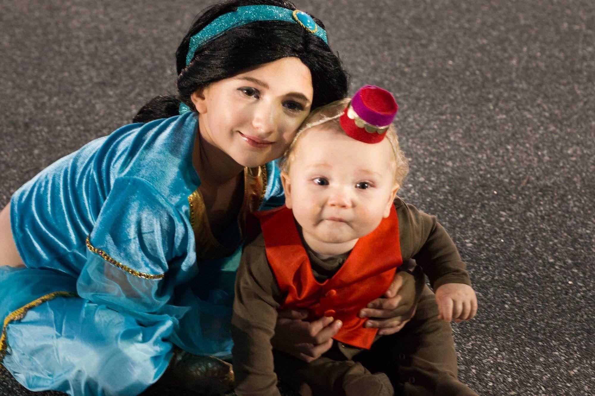Disney aladdin jasmine and abu halloween costumes pinterest