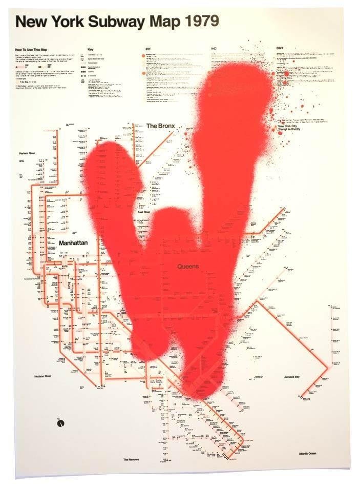 Warriors Subway Map.The Warriors Subway Map My Stuff Movie Posters Warrior Movie