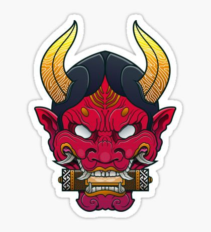 Hanya Mask Sticker