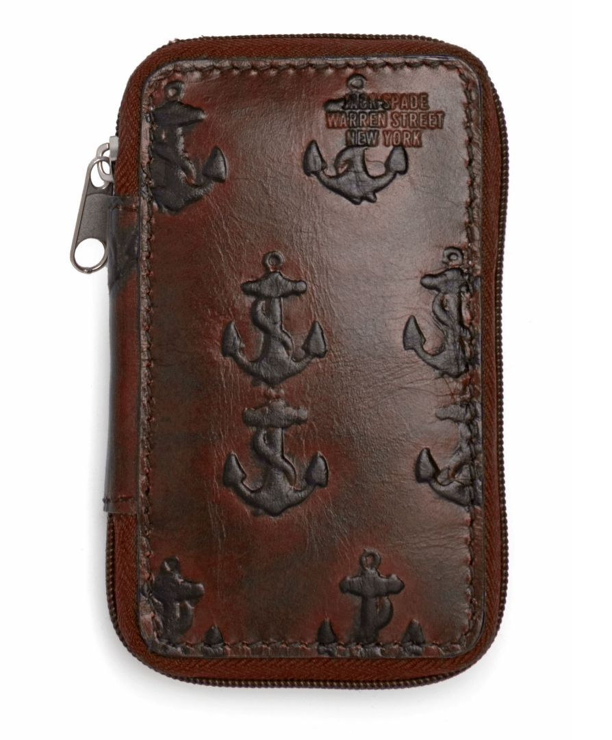 Jack Spade | Men's Fashion Accessories - Odds and Ends - Embossed Anchor Key Case