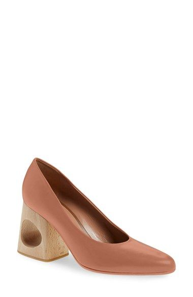 661592b974 Free shipping and returns on Marni Cutout Block Heel Pump (Women)  (Nordstrom…