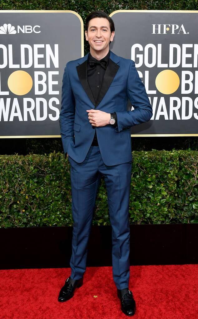Pierce Brosnan from Golden Globes 2020 Red Carpet Fashion