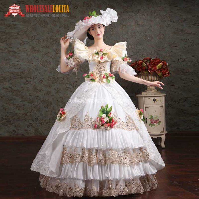 Women\'s Prom Gothic Victorian Fancy Palace Masquerade Dresses ...