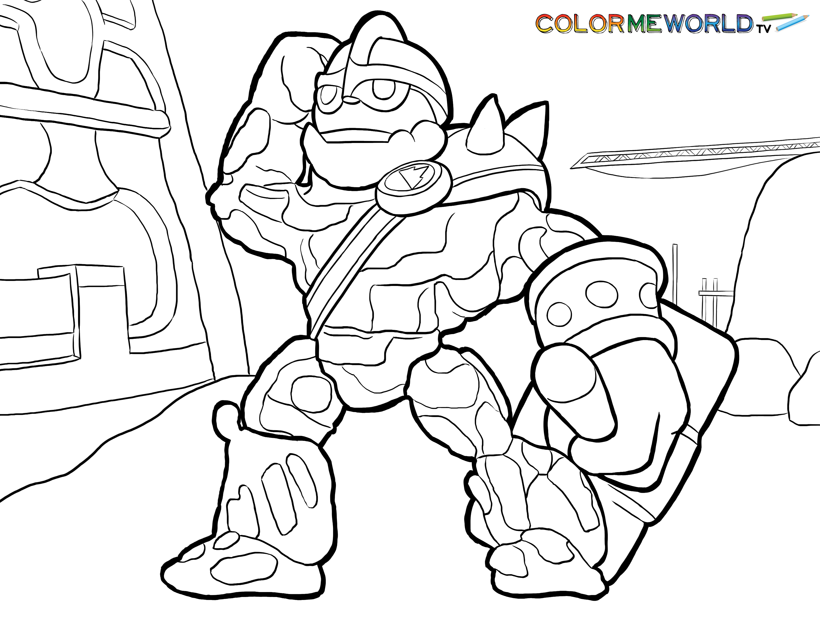 Action Beauty Coloring Pages Of Skylanders Gallery Images top swarm coloring page skylanders pages pinterest and colors gallery images