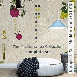 fototapete 250x250, tapete - fototapete - vlies komplett-set-mediterranea (01-06, Design ideen