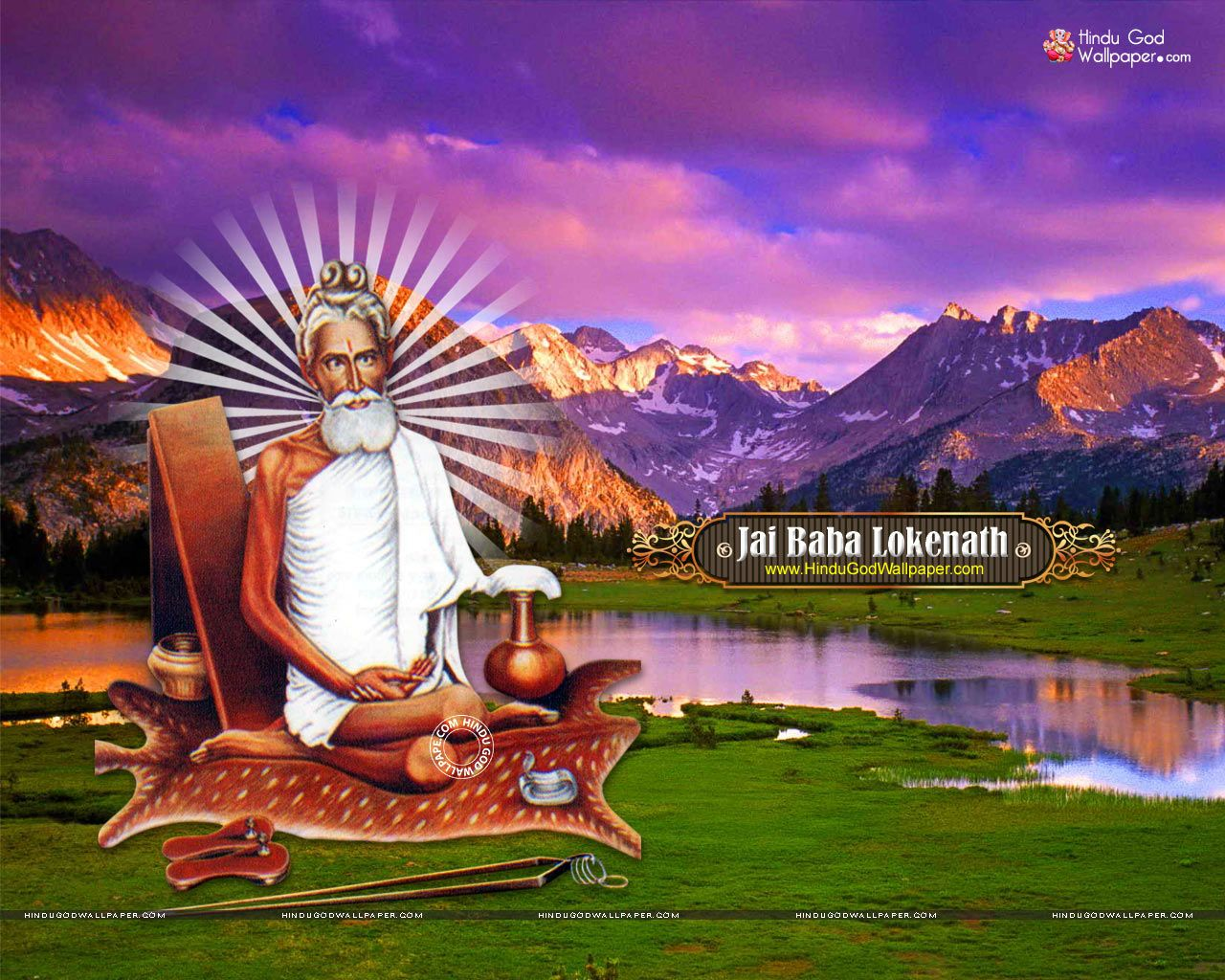 baba loknath full hd photo download