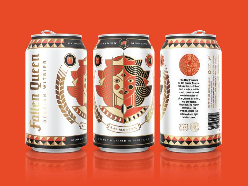 Fallen Queen Beer Can Beer Can Canning Beer