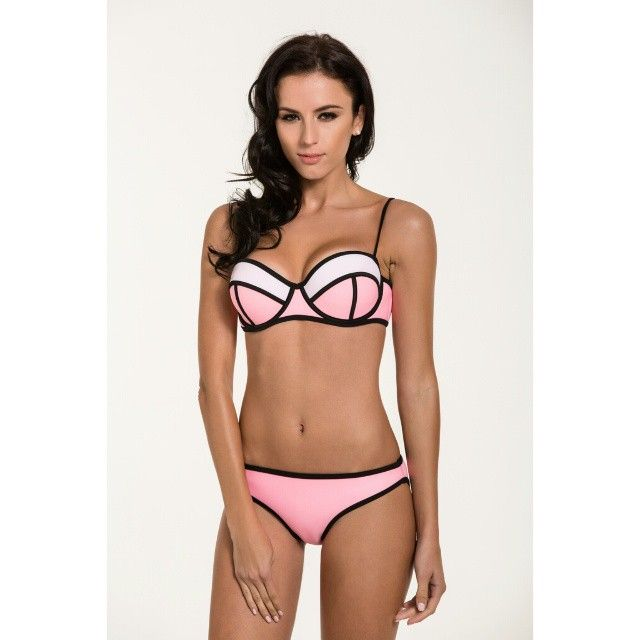 80ba25d89f337 OTILLY Aroa BIkini - Available in Pink Pearl