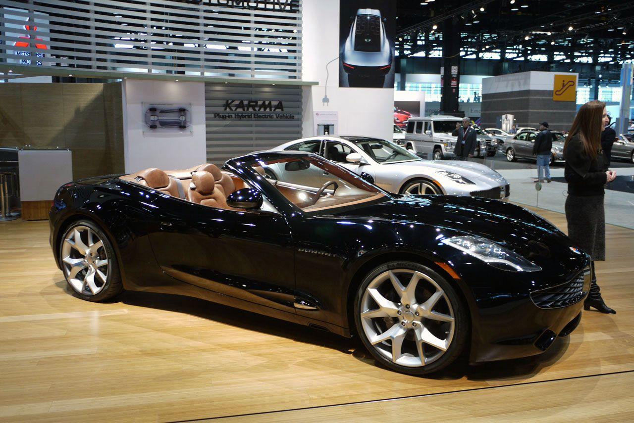 Fisker Karma Sunset Chicago Auto Show My Dream Car Dream Cars