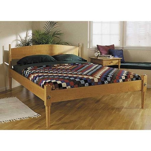 Wood Magazine Woodworking Project Paper Plan To Build Shaker Bed