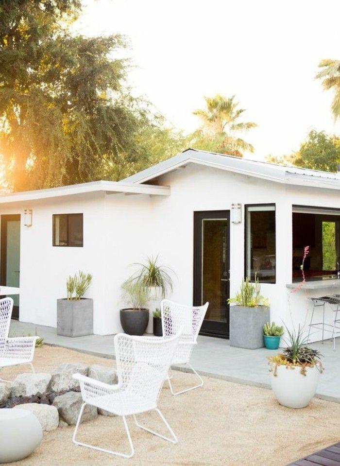 cool Déco Salon - jolie maison en 1 étage avec salon de jardin ...