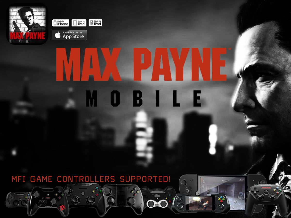 The classic max payne updated with full mfi controller