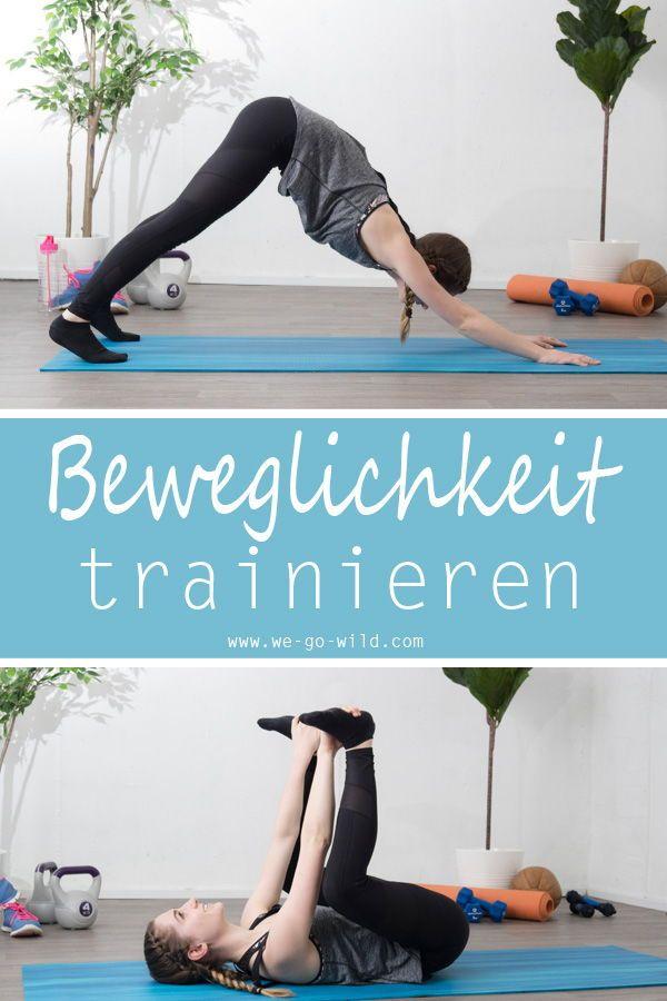 Der ultimative Yogi Guide: Mit diesen 7 Yoga Stellungen wirst du beweglich #cardioyoga