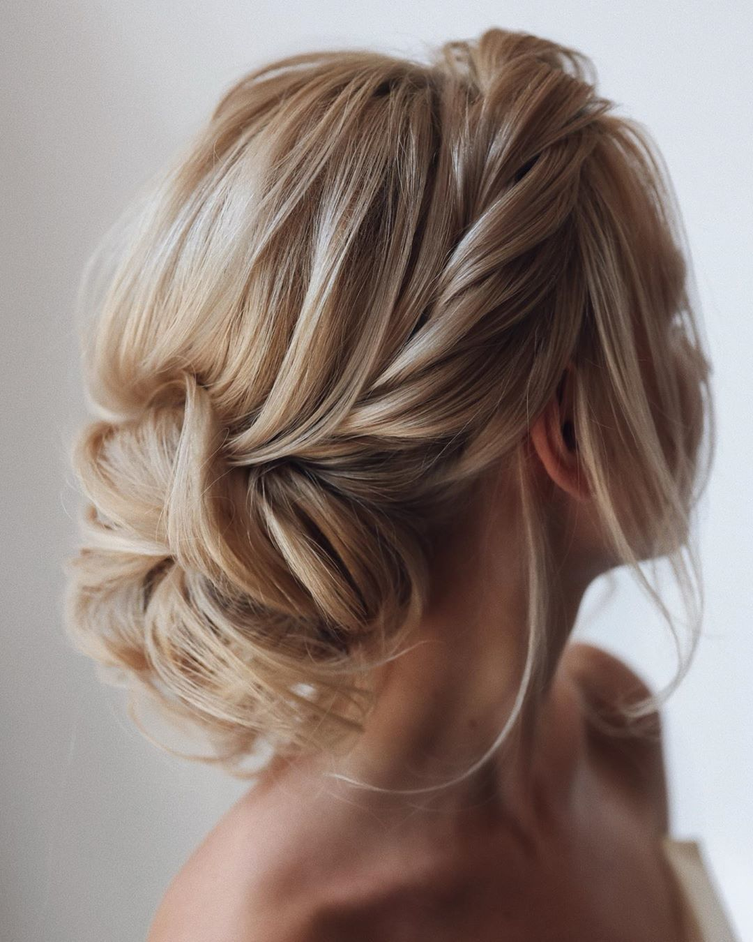 """Beautiful Wedding Hairstyle For Long Hair Perfect For Any: American Salon On Instagram: """"Happy Is The Bride With The"""