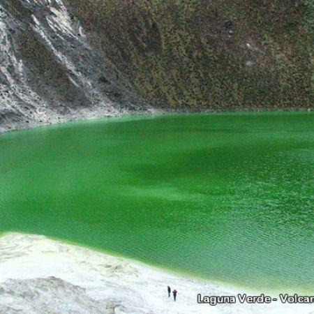 volcan azufral laguna verde - Buscar con Google