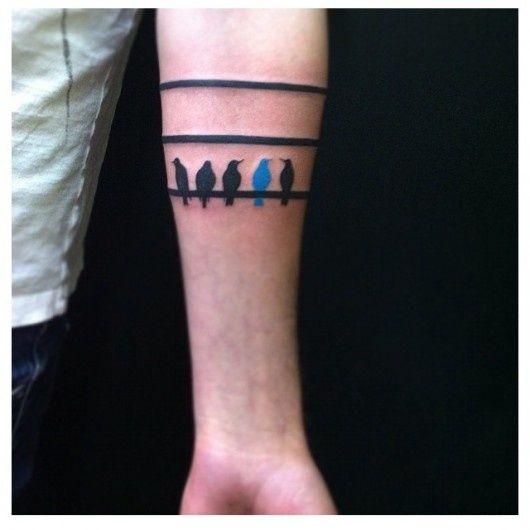 Birds On A Wire Tattoo Google Search Tattoo Pinterest