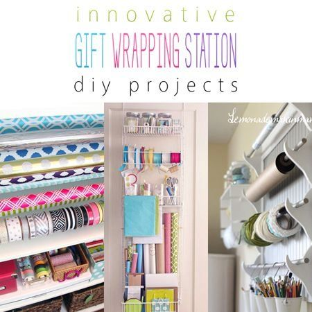 Innovative Gift Wrapping Station DIY Projects - The ...