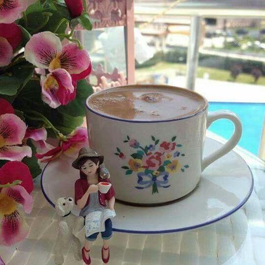 اعتمدعلى نفسك ان لم يكن في حياتك من يهديك الورد اشتري لنفسك ورده وان لم تجد Coffee Breakfast Turkish Coffee I Love Coffee