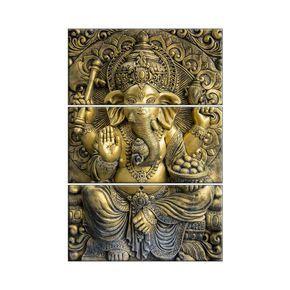 Best Ganesha Wall Tiles 3D Effect 114 For Pooja Room Living 400 x 300