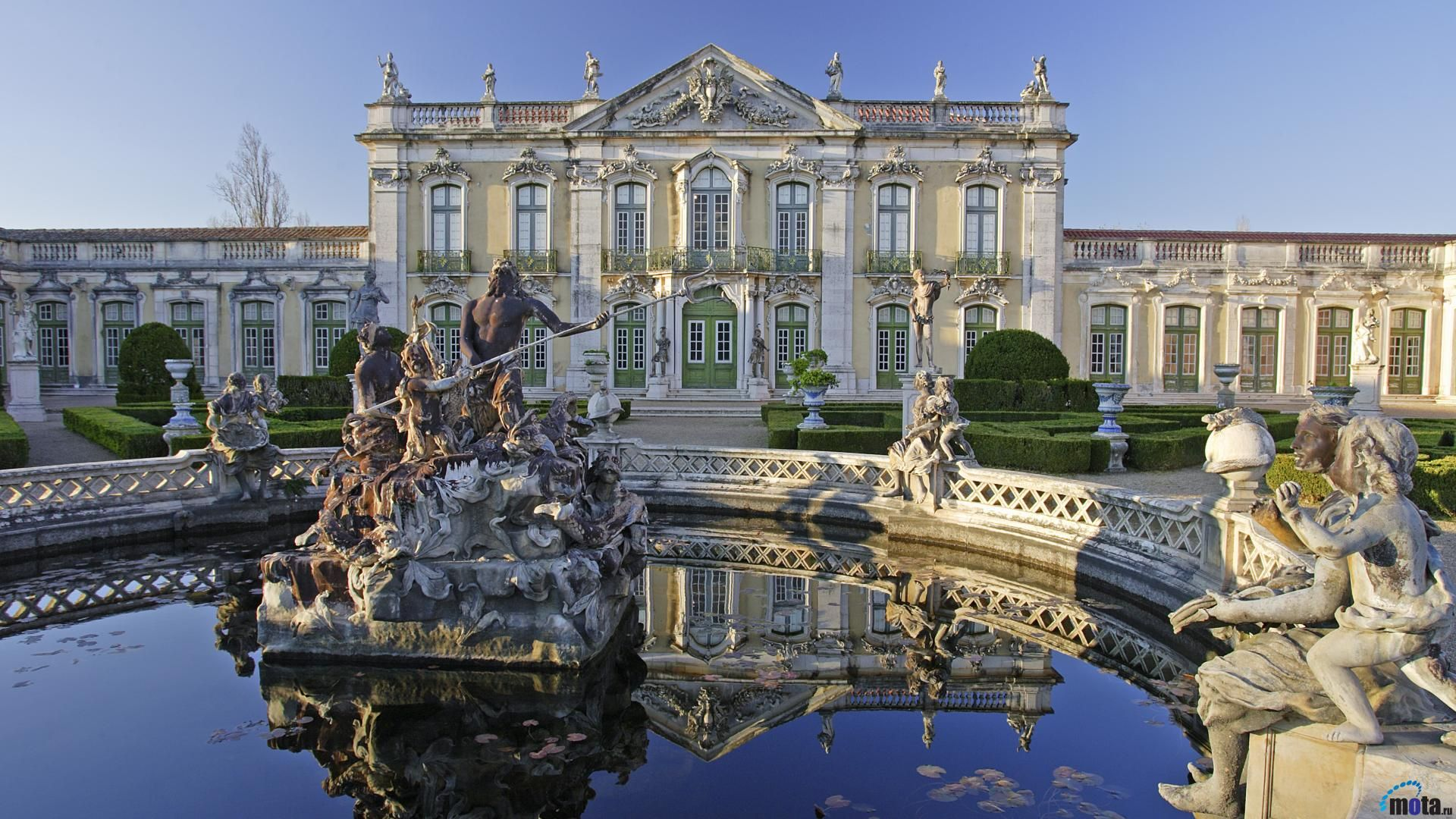 Queluz Palace, Mafra, Portugal