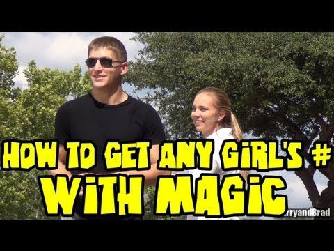 How To Get ANY Girl's Phone Number With Magic | Girls ...
