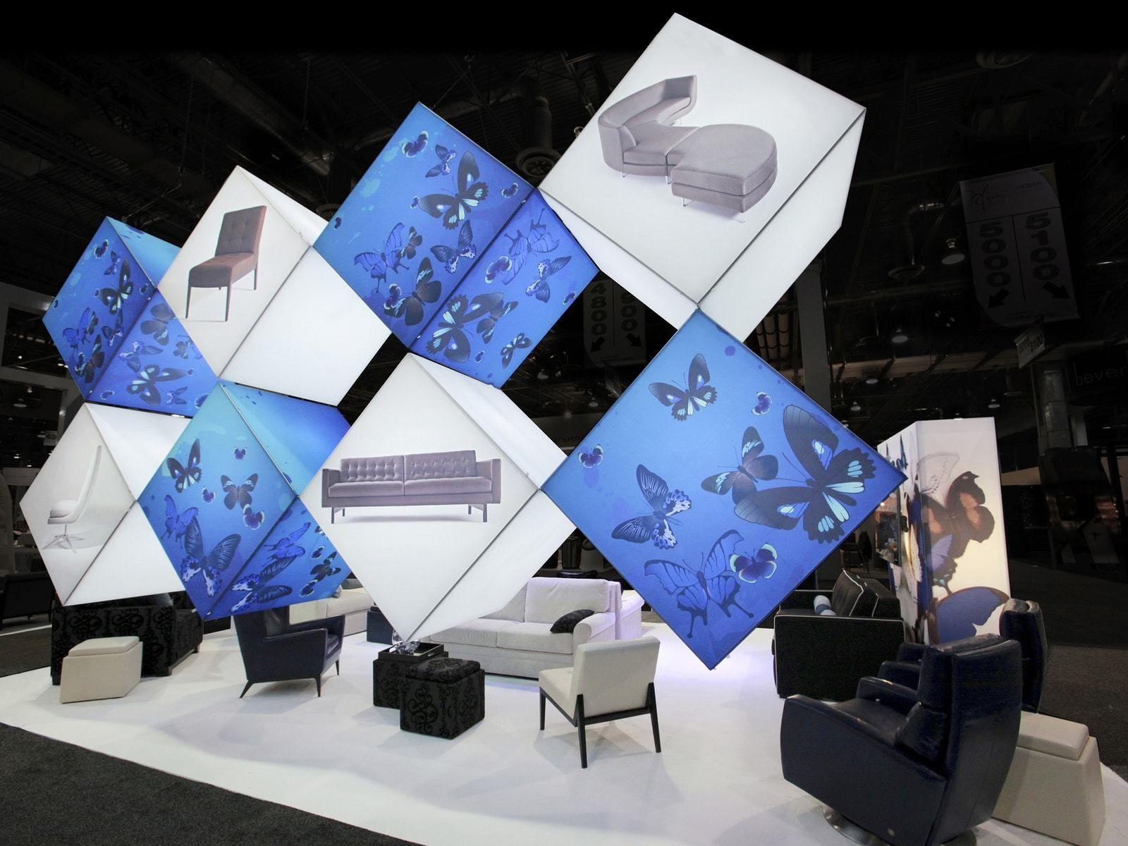 exhibit design ideas inspiration trade show displays