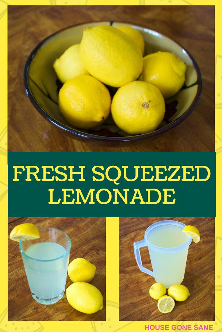 Super Easy Fresh-Squeezed Lemonade #freshsqueezedlemonade Fresh Squeezed Lemonade #freshsqueezedlemonade