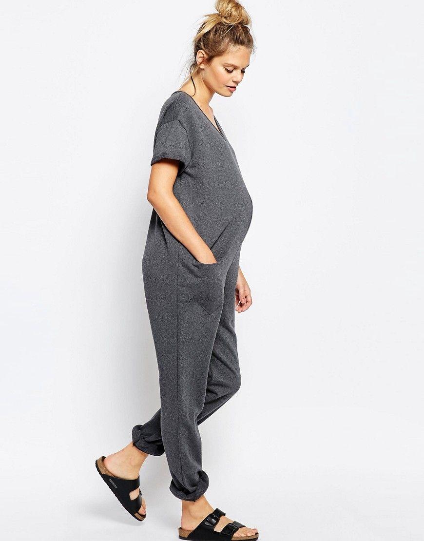 3d681ead74c1f Bluebelle Maternity Lounge Slouchy Jumpsuit   maternity   Pinterest ...