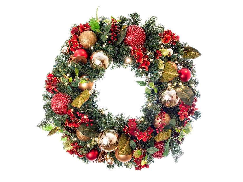 Pre Lit Wreath