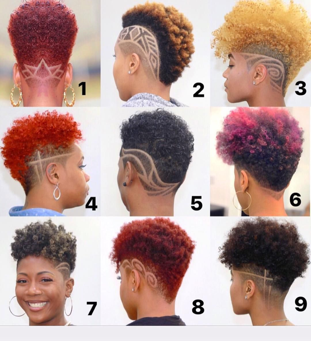 🌺💈🌺~ Curls | Fades | Natural | Designs | Haircuts | Hairstyles | All  leads to Stylish Beauty ~… | Short hair designs, Natural hair styles,  Shaved side hairstyles