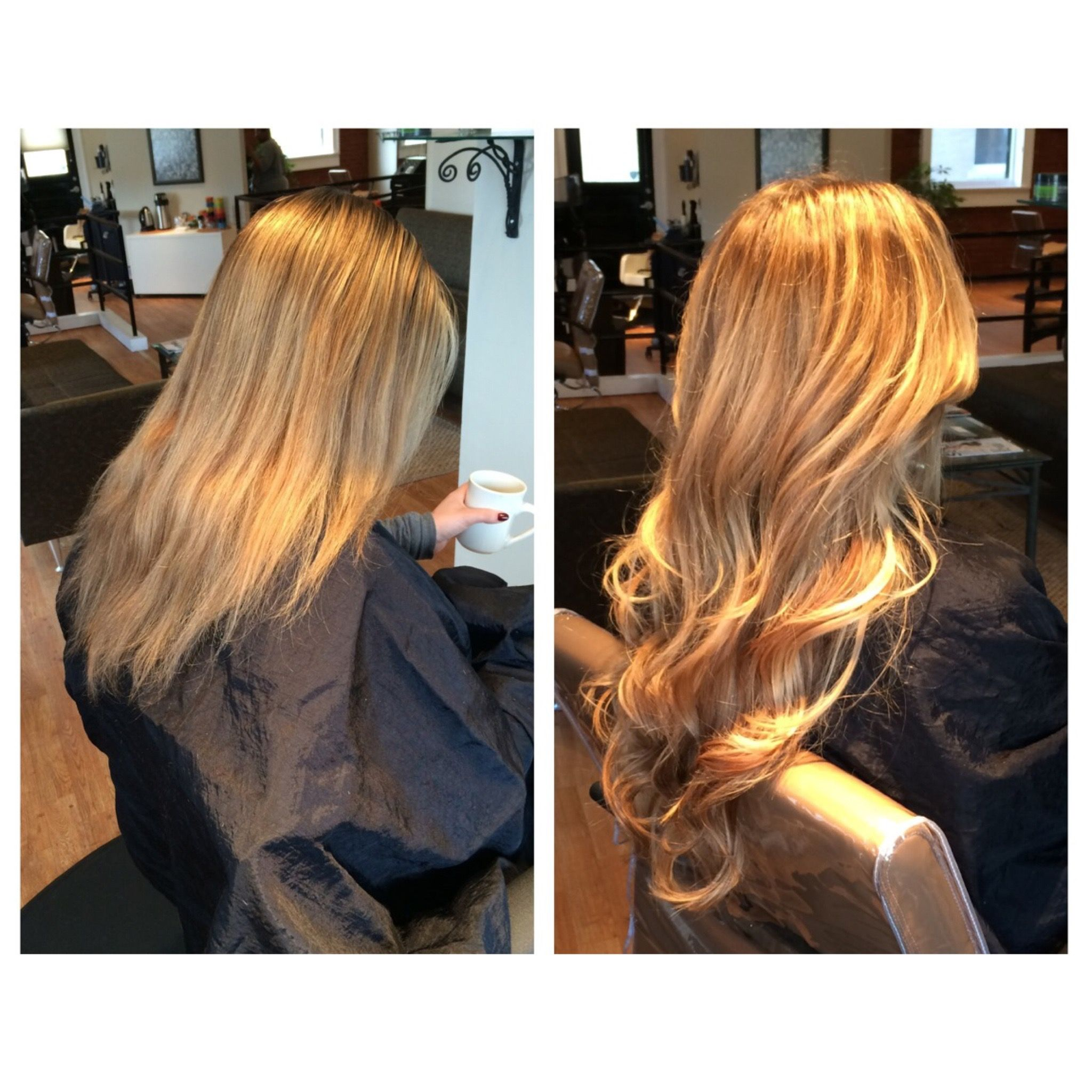 Before And After Extensions Done By Lauren Kesler Kaneandcompany