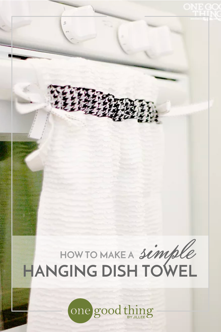 How To Make A Simple Hanging Dish Towel | SEWING PROJECTS ...